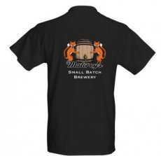 Malcroys Brewing T-shirt Black LARGE